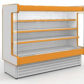 Витрины холодильные среднетемпературные - стеллажи