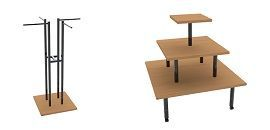 Вешала и столы