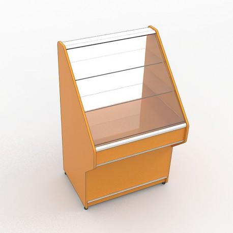 Торговый витринный прилавок-горка
