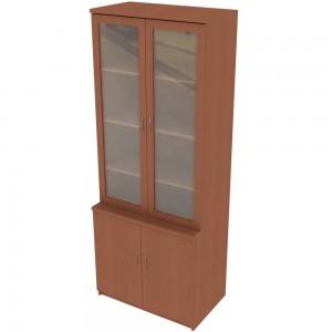 Шкаф для документов со стеклянными дверками