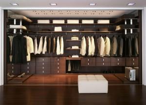 Мебель на заказ - гардеробная