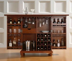 Мебель на заказ - барный шкаф