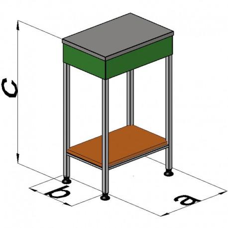 Рабочий стол упаковочный